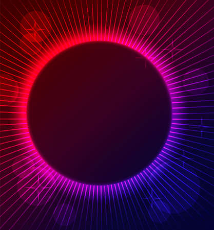 night club: Vector illustration of Abstract color glowing background