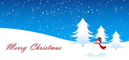 Vector illustration of Xmas back Vector