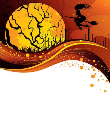 Halloween back Stock Vector - 14867296