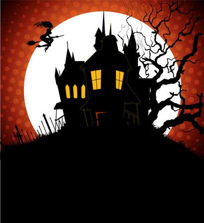 Halloween back Stock Vector - 14867402