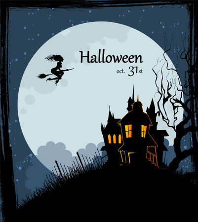 Vector illustration of Halloween back Stock Vector - 14867541
