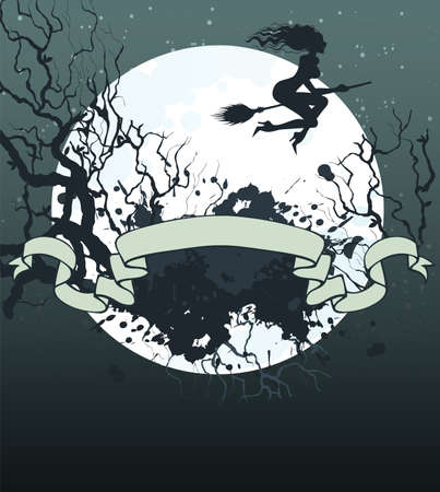 Vector illustration of Halloween back Stock Vector - 14867498