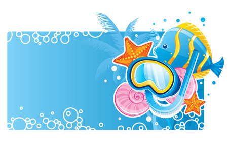 Bubble banner Vector