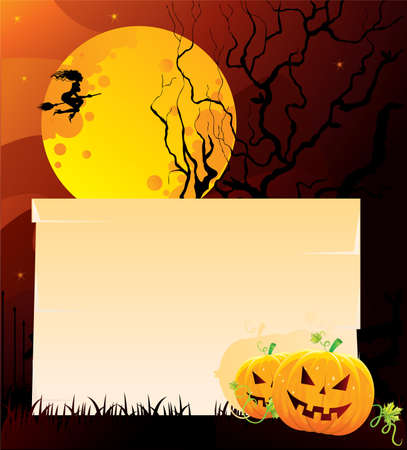 Vector illustration of Halloween back Stock Vector - 14867466
