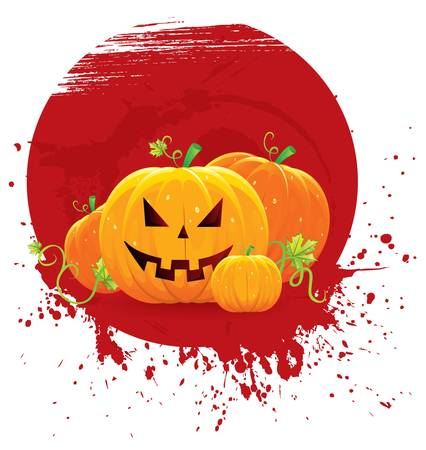 Vector illustration of Halloween back Stock Vector - 14867623