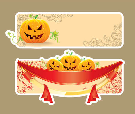 Vector illustration of Halloween back Stock Vector - 14867539