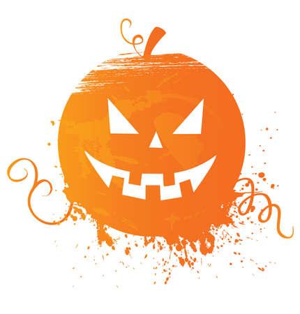 citrouille halloween: Halloween pumpkin Illustration