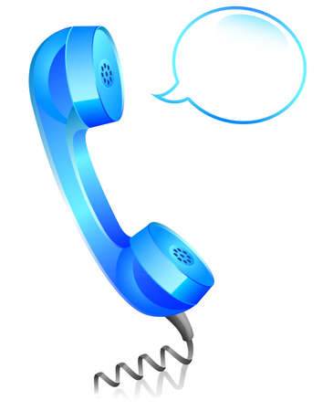 telephone line: Telephone Icon Illustration