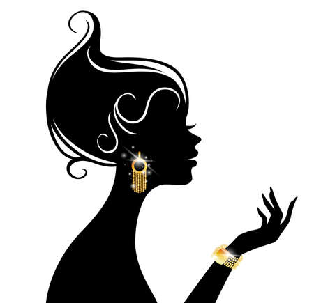 Vector illustration of Beauty woman Stock Vector - 15163820