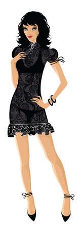female boss: Beauty woman