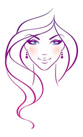 Beauty woman Stock Vector - 15174860