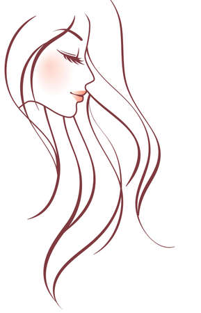 Beauty woman Vector