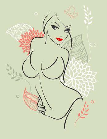 sexy nude women: Beauty woman