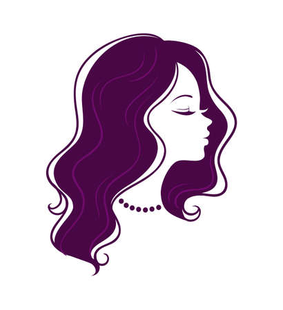 illustration of Woman's silhouette Stock Vector - 15567312