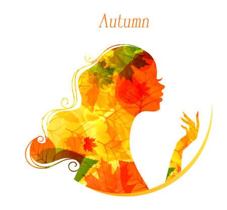 illustration of Beauty woman Stock Vector - 15567465