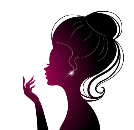 illustration of Beauty woman Vector
