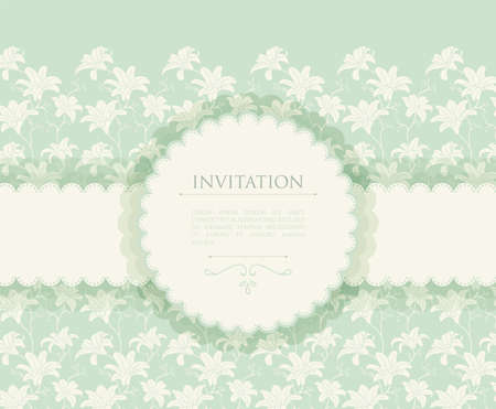 illustration of Invitation Vector