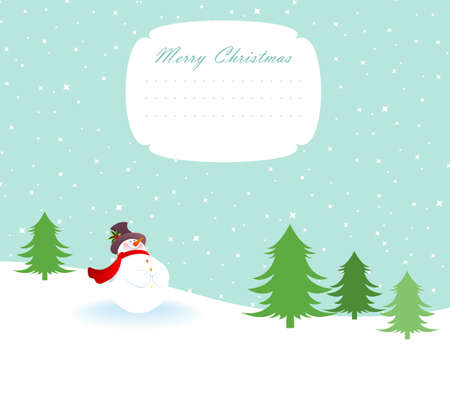illustration of Xmas back  Vector
