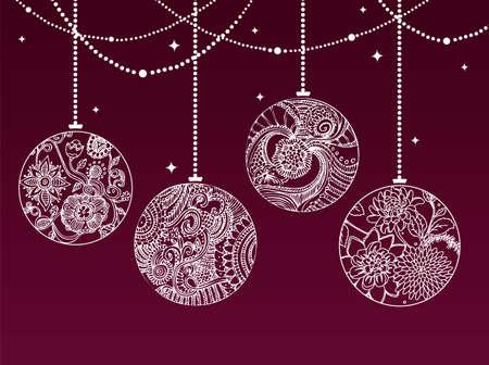 illustration of Christmas balls Stock Vector - 15709832