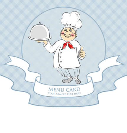 illustration of Chef cook men Vector