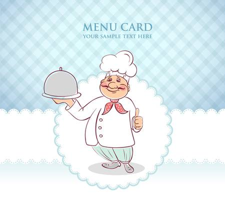 Vector illustration of Chef cook men  Stock Vector - 15798493
