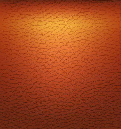 brown leather:  illustration of Old brown leather texture