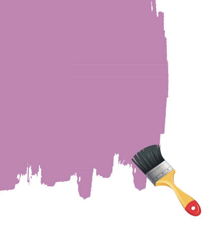 illustration of Paint brush with splash Stock Vector - 16780067