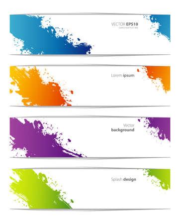 Vector illustration of Splash designs templates Stock Vector - 20214067