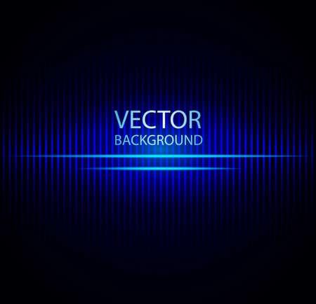 Vektor-Illustration der abstrakten blauen Hintergrund