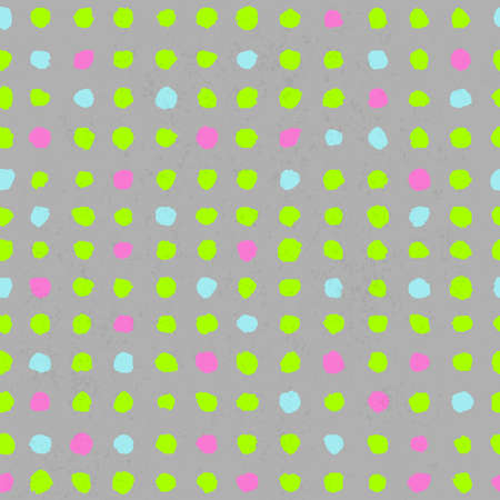 Vector illustration of Circles seamless pattern Vector