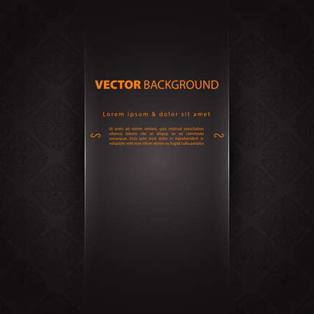 Vector illustration of Design template back Vector