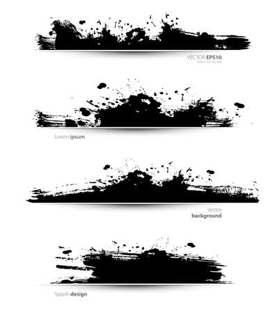 Vector illustration of abstract ink Stock Vector - 23168291