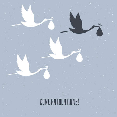 Vector illustration of Congratulation for you Vector