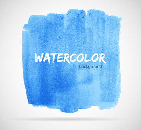 appearance: Vector illustration of Watercolor design