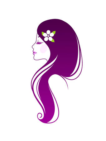 Vector illustration of Beautiful woman   Vector