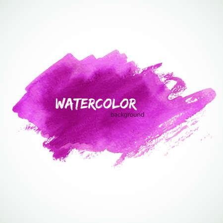 ink splat: Vector illustration      of Watercolor design Illustration