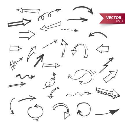 Illustration of Arrows Vector