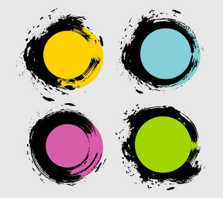 Illustration of Spot set  イラスト・ベクター素材