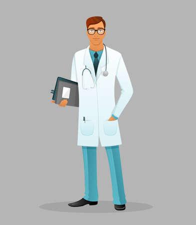 doctor: illustration of Doctor man