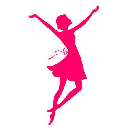 femme dessin: Vector illustration de la Belle et la jeune femme Illustration