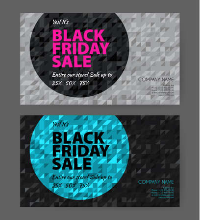 Vector illustration of Big sale flyers template