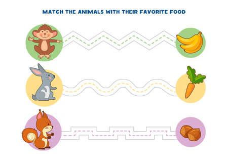Jeux éducatifs imprimables pour le développement de la motricité fine chez les enfants. Le doigt de bébé permet le long des pistes. Illustration vectorielle Vecteurs