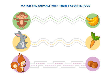 Juegos educativos imprimibles para el desarrollo de la motricidad fina en los niños. El dedo del bebé permite a lo largo de las pistas. Ilustración vectorial Ilustración de vector