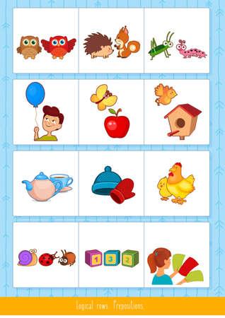 Educational children game Stock fotó - 127098002