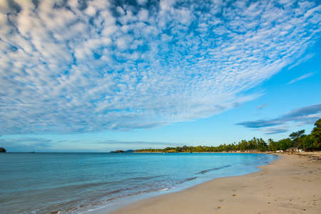 The west side of Nosy Sakatia has a wonderful beach with golden sand and little Malagasy shacks