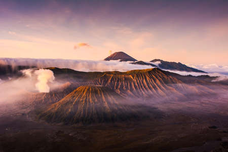 Mount Bromo is one of the most impressive active volcano on earth. Admiring it at sunrise is a must if you visit Indonesia.