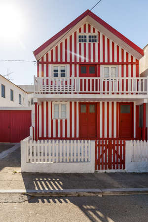 Costa Nova village, very close to Aveiro, is a fisherman village and its also famous for its colorful striped houses