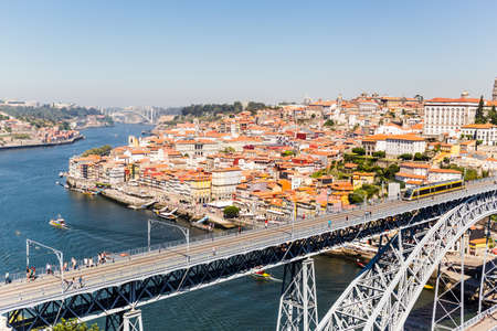 Oporto is one of the most important city of northen Portugal. Its famous historic district, Riberia, UNESCO word heritage, is full of traditional street markets, monuments and narrow streets with typical restaurants. Editorial