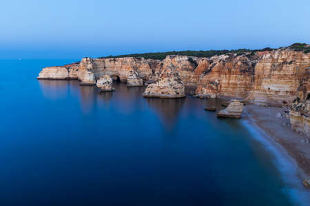 Algarve is a region in the south of Portugal. Its wonderful coloured cliffs make it one of the prefferd spot for european tourists