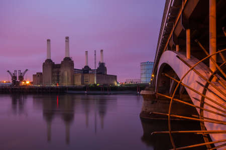 pink floyd: Battersea Power Station in London, England